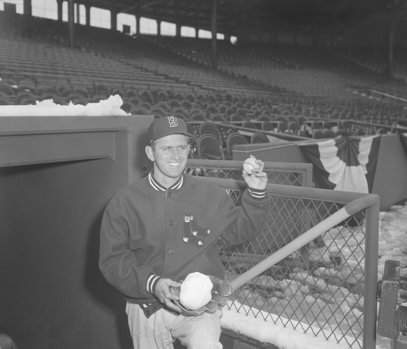 9d6314d85 You see Mel Parnell was a rookie in 1948 and he was not a bad rookie at  all, going 15-8 with a 3.14 ERA and at a time when Fenway Park was ...