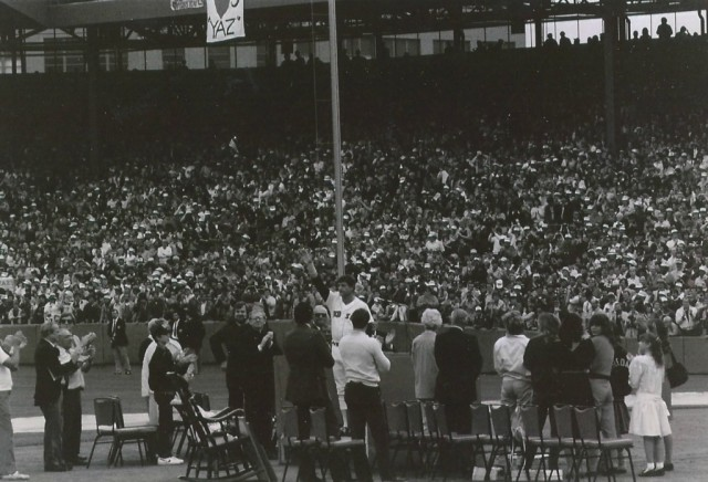 Images of Fenway Yaz Goodbye