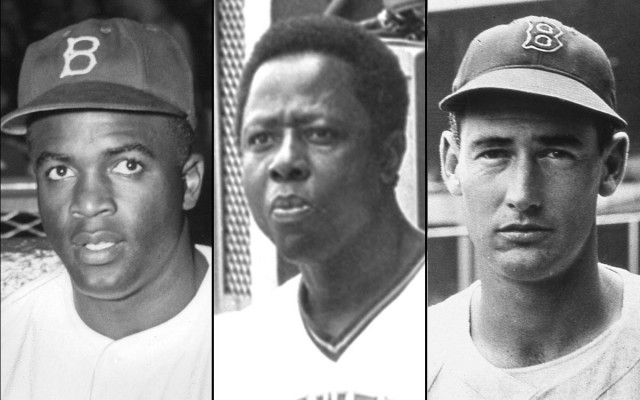 032514-MLB-Babe-Ruth-Jackie-Robinson-Hank-Aaron-Ted-Williams-TV-Pi
